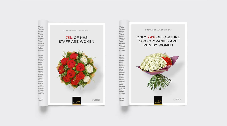 amy-jones-design-interflora-iwd-2021-data-vis-magazine-ads-2