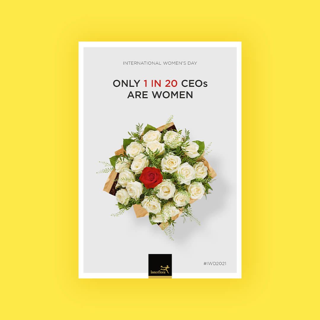amy-jones-rise-at-seven-interflora-iwd-2021-flower-bouquet-ad